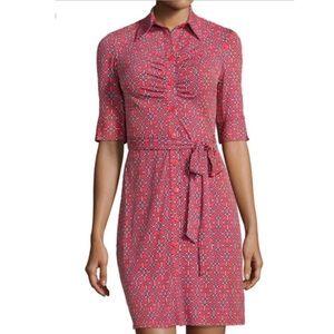 Laundry by Shelli Segal Button Down Shirt Dress 14